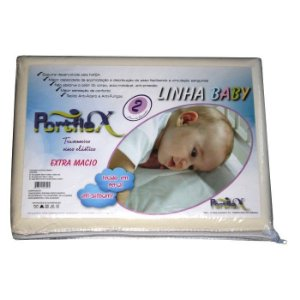 Travesseiro Infantil Anti-sufocante