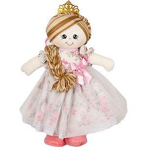Boneca Princesa Helena em Tecido