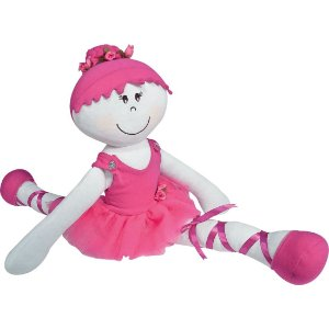 Boneca de Pelúcia Bailarina