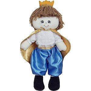 Boneco Príncipe Kevyn em Tecido