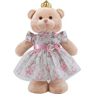 Ursa Princesa em pé de Pelúcia
