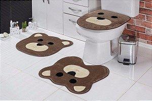 Jogo de Banheiro Infantil Urso