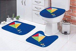 Jogo de Banheiro Infantil Pipa