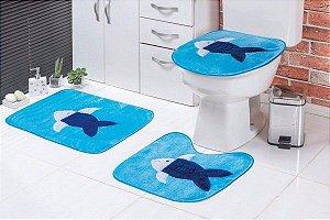 Jogo de Banheiro Infantil Peixe