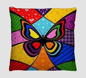 Almofada Decorativa Estilo Romero Brito