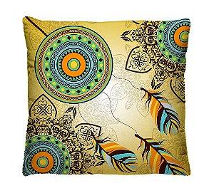 Almofada Decorativa Mandalas Indígenas