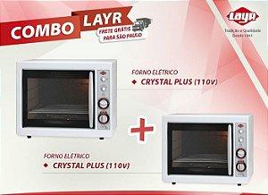Forno Elétrico Crystal Plus (110V) + Forno Elétrico Crystal Plus (110V)