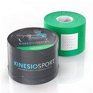 Bandagem Elástica Kinesiosport Verde