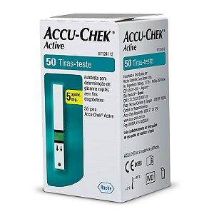 Tiras Medidoras de Glicose Accu-Chek Active 50 unidades