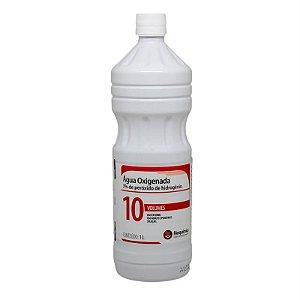 Água Oxigenada Rioquímica 10 volumes com 1l