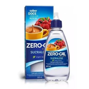 Adoçante Zero-Cal Sucralose com 100ml