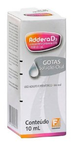 Addera D3 3.300UI Gotas 10ml