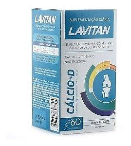 Lavitan Cálcio + Vitamina D3 600mg com 60 Comprimidos