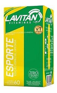 Lavitan Esporte com 60 Cápsulas
