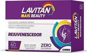 Lavitan Mais Beauty Rejuvenescedor com 60 Cápsulas