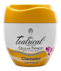 Teatrical Creme Facial Clareador 100g