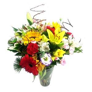 Flores Finas no Vaso