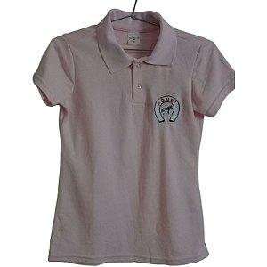 Camisa Polo Feminina com logo Pônei