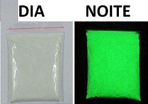 100g Pigmento Pó Fosforescente Brilha No Escuro,tinta Tecido