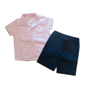 Conjunto Camisa e Bermuda Pupi