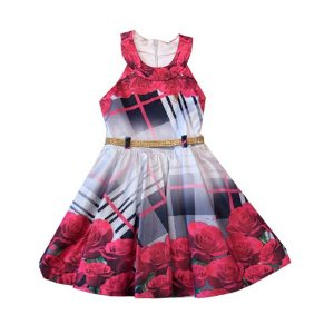 Vestido Luxo Cetim Diforini