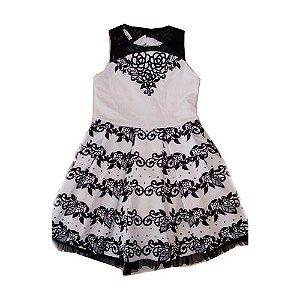 Vestido Luxo P&B Diforini