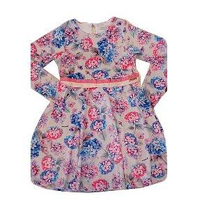 Vestido Floral Plush Momi