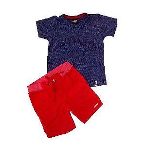 Conjunto T-Shirt e Bermuda Sarja Bugbee