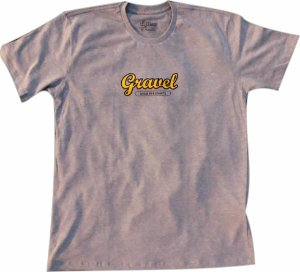 T-shirt Gravel Pavement Ends