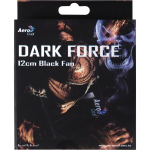 Dark force Fan 12 cm black fan