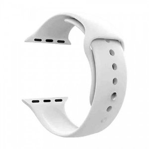 Pulseira para Apple Watch em Silicone Branca