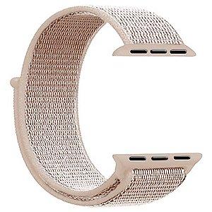 Pulseira para Apple Watch em Nylon Rose