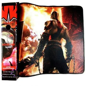Mouse Pad God of War Gamer Profissional