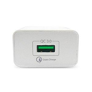 Carregador de Parede iWill, 1 USB, Quick Charge