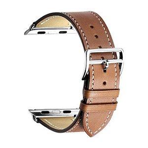 Pulseira para Apple Watch® WatchBand - Couro Marrom