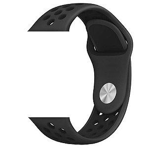 Pulseira para Apple Watch® WatchBand - Silicone Sport Preta