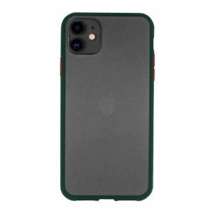Frosted Case para iPhone 11 Verde Capa Protetora