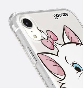 CAPINHA IMPACT SLIM STANDARD - CAT MARIE - PARA IPHONE XR