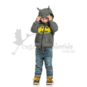 Jaqueta Infantil Menino DC Comics Originals Batman