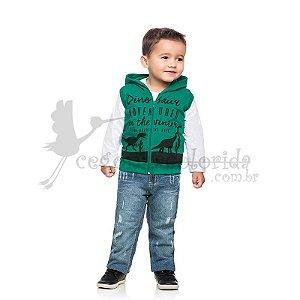 Colete Infantil Menino Dinossauros Kamylus
