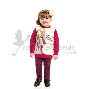 Conjunto Longo Infantil Menina Garotinha Fashion