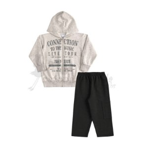 Conjunto Longo Infantil Menino Connection Kaiani