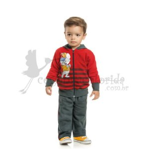 Conjunto Longo Bebê-Infantil Menino Pintando com Kelvin
