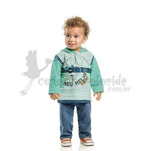 Conjunto Longo Bebê-Infantil Menino Meu melhor amigo