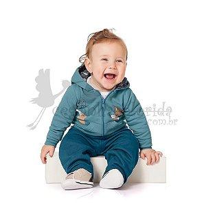 Conjunto Longo Bebê Menino Little Dog WOF - Kiko Baby - Roupas e ... 74562506b4b
