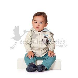 Conjunto Longo Bebê Menino Little Dog WOF Kiko Baby