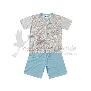 Pijama Manga Curta Infantil Menino Sweet Dreams