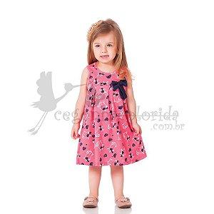 Vestido Regata Infantil Menina Rotativo Kiko & Kika