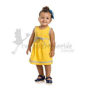 Vestido Regata Infantil Menina Charmosinho