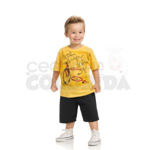 Conjunto Infantil Menino Bicycle Workshop